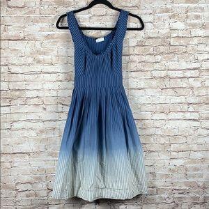 Converse One Star Ombré Dress Ruffle Stripe Sheath